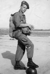 Hussard para Jacques FOULON en 1952