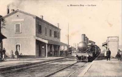 HUSSEIN-DEY - La Gare