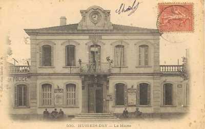 HUSSEIN-DEY - l'Ancienne Mairie