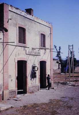 IGHZER-AMOKRANE La Gare en ruines