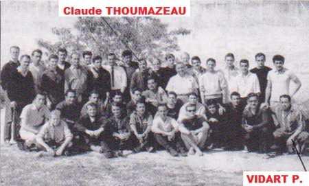 Claude THOUMAZEAU Paul VIDART