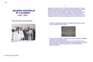 Highlight for Album: Jacques SOUSTELLE et l'ALGERIE