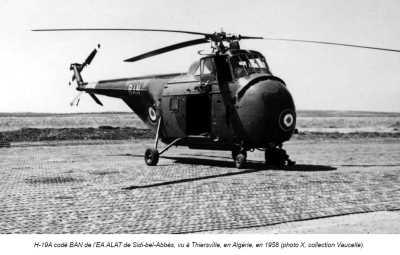 AERODROME de SIDI-BEL-ABBES  en 1958