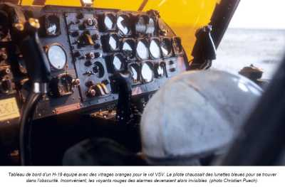 Tableau de Bord d'un H-19