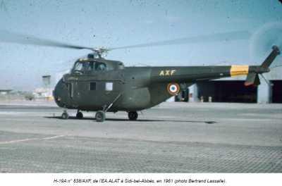 AERODROME de SIDI-BEL-ABBES en 1961
