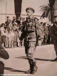 1960 - Le Commandant du Cdo JAUBERT