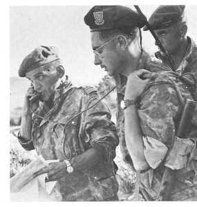 Fusilliers Marins Capitaine de Corvette Fernand COSTAGLIOLA  Pacha du commando du 29 octobre 1957 au 20 juin 1959.