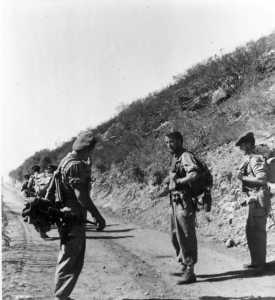 Ouverture de piste Soldats du Commando de marine JAUBERT