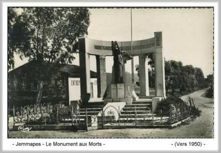 JEMMAPES - Le Monument aux Morts