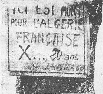 25 Janvier 1960 ICI EST MORT X... 20 Ans