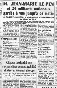 28 Janvier 1960