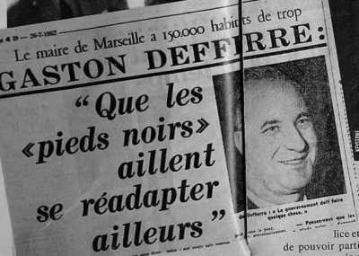 Gaston DEFFERRE 26 JUILLET 1962