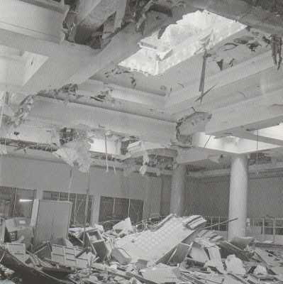 ALGER - 17 Juin 1962  Plasticage de la MAIRIE