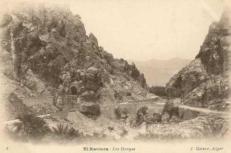 EL KANTARA - Les Gorges