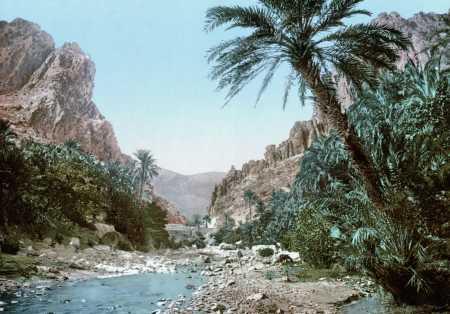 EL-KANTARA - Les Gorges en 1899