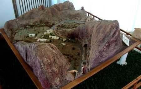 EL-KANTARA - Maquette des Gorges