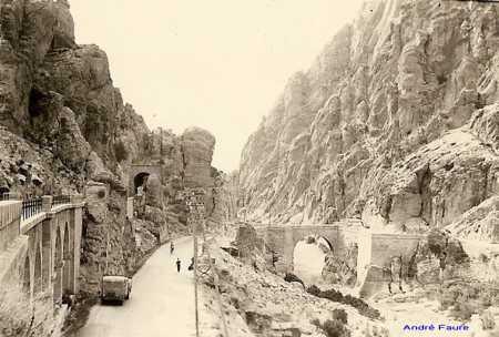 Gorges d EL KANTARA