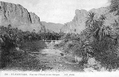 EL-KANTARA - Les Gorges et l'Oued