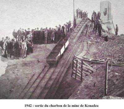 KENADZA La mine de Charbon