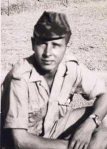 Aspirant Alain LEFIN  mort au combat le 22 septembre 1959
