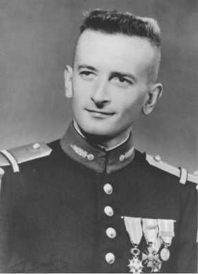Pierre CHAMPEAUX, jeune sous lieutenant
