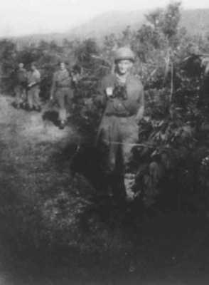 Route de Nam Yen en janvier 1948