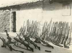 Une partie de l'Armement de la Katiba 611
