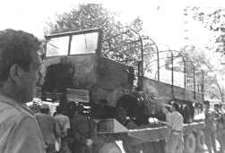 9 Novembre 1959  ce qui reste du cargo