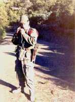 Michel ISART sur une piste de Tacheta Photo M. Isart