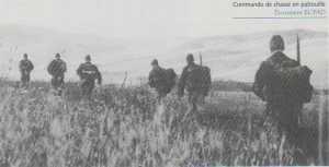 Commando de chasse Kimono 36 en patrouille Source : ECPAD