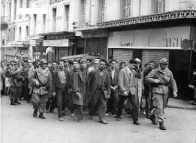 1960 - ratissage dans la Casbah d'Alger