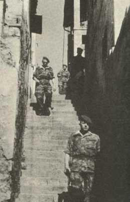 patrouille dans la Casbah