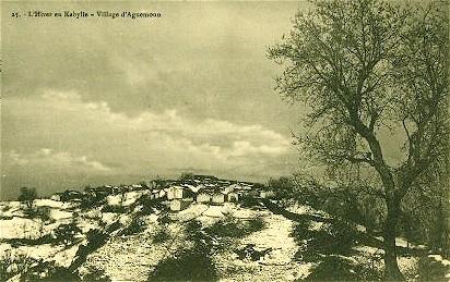 AGUEMOUNE en Kabylie