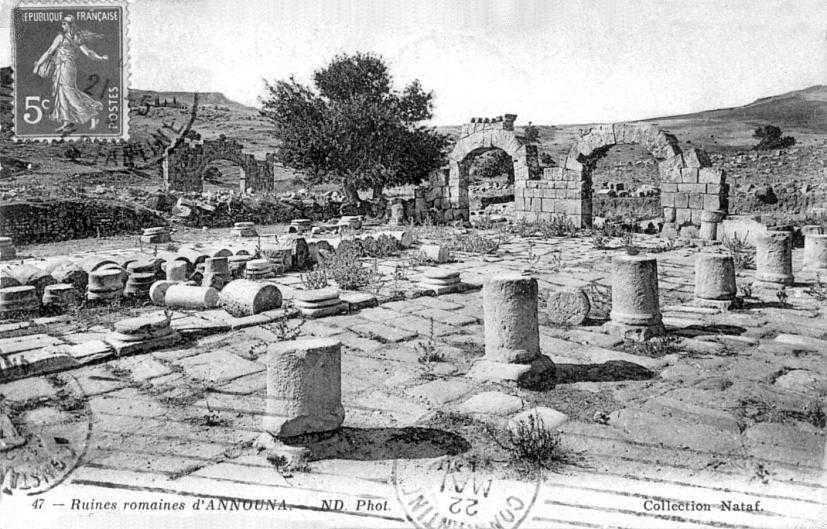 ANNOUNA Les Ruines Romaines