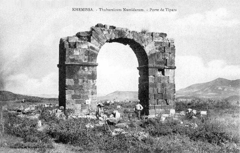 KHEMISSA - Ruines Numides