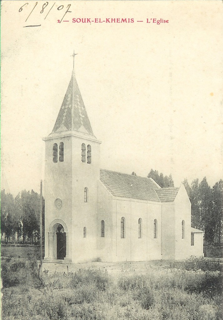 SOUK-EL-KHEMIS L'Eglise
