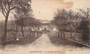 LAFAYETTE - La Justice de Paix