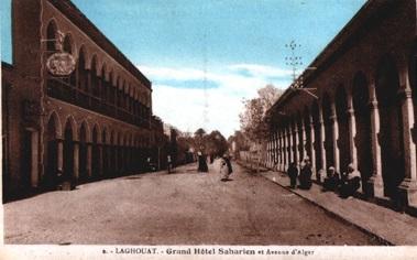 LAGHOUAT - Avenue d'Alger