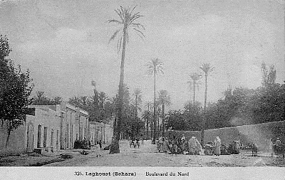 LAGHOUAT - Boulevard du Nord