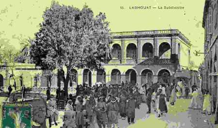 LAGHOUAT - La Subdivision