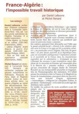 L'ALGERIANISTE