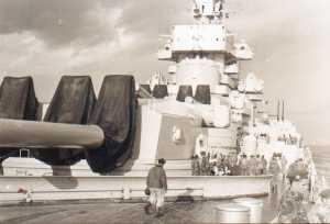 Sur le Jean Bart  le 1er REP et  les commandos marine