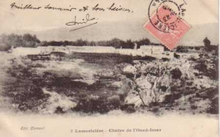 LAMORICIERE - Chutes de l'Oued Isser
