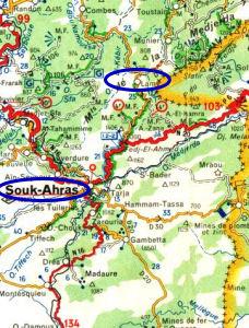 LAMY, au-dessus de SOUK-AHRAS