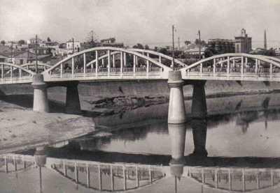 MAISON-CARRE  Le pont principal sur l'Arrach