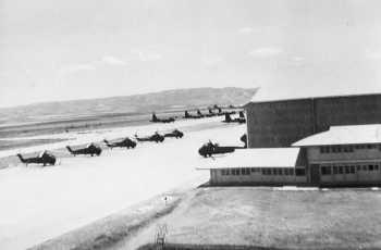 LARTIGUE - La piste d'aviation