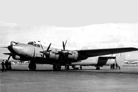 1959 -  LA SENIA  AVRO SHACKLETON de la RAF