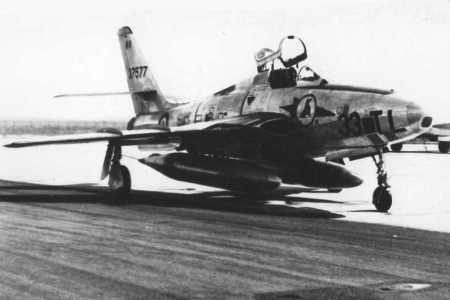 1959 -  LA SENIA  RF 84F - THUNDERFLASH