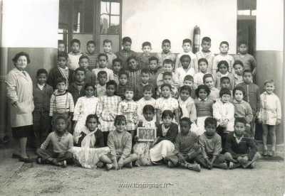 LAVAYSSIERE - Classe CE1 en 1961