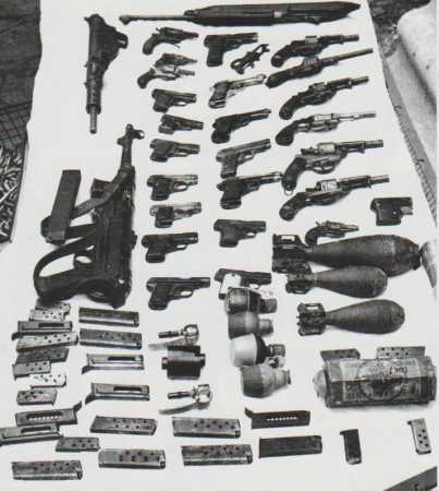 FAP - Armes saisies